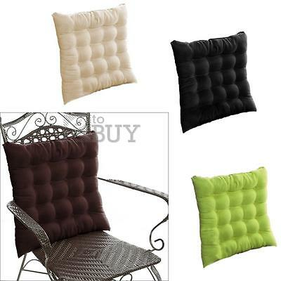 Faux Suede Chair Seat Cushion Pad Warm Home Decor Dining Outdoor