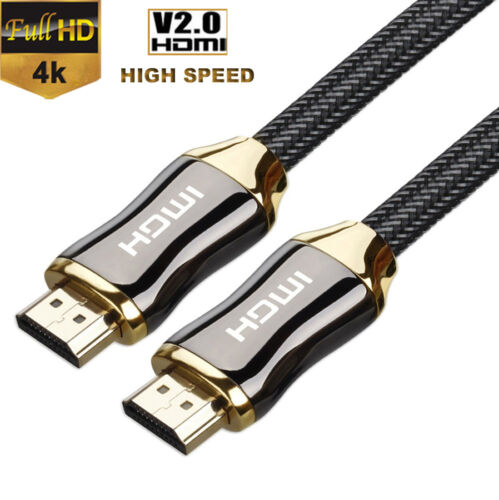 30FT High Speed V2.0 HDMI Cable Ultra HD Ethernet HDTV 2160p 4K 3D for PS3 XBOX