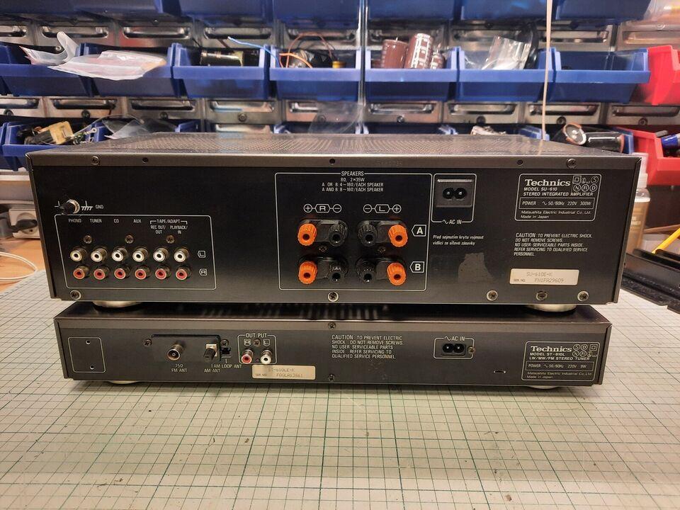Forstærker, Technics, SU-610