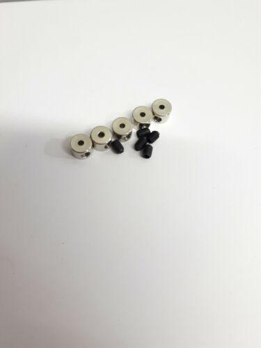 rc plane Wheel Stop Retainer Stopper Collar 6x2.1mm Landing Gear collet