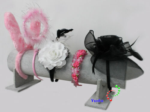 Präsentationshilfe Schmuckständer mit gr.Rolle für Haarreif Diamdem Haarband