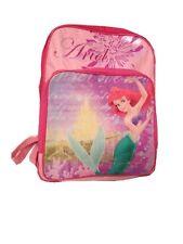 Disney Princess Ariel little Mermaid Large Backpack School bag new