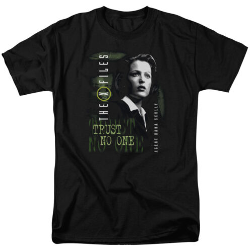 The X Files SCULLY Licensed Adult T-Shirt All Sizes