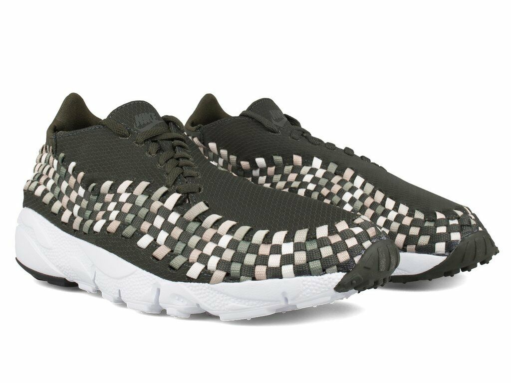Nike Air Footscape Woven Khaki NM neu Sneaker Gr:40,5 Khaki Woven Grün free flyknit 90 95 97 95fea4