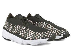 Footscape Sneaker Grün Nm Nike Flyknit Free Air Khaki 95 40 90 Gr Neu 97 Woven a1x4wB
