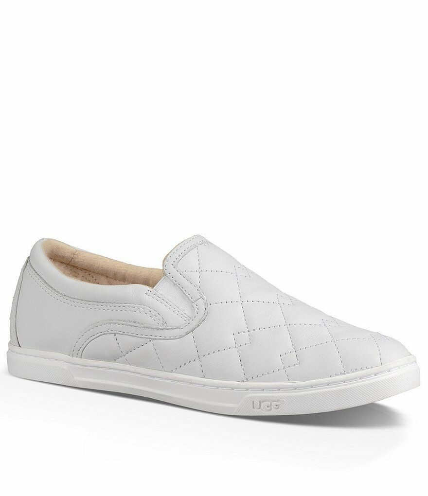 UGG Australia Fierce Deco Quilt Weißer Sneaker Damen Größen 5-11 / NEU !!!