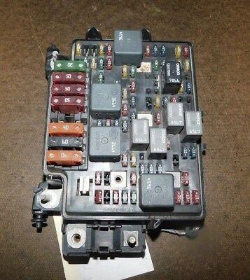 2000-2002 Chevy Silverado 1500 2500 3500 Tahoe Fuse Box ...