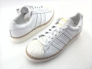 b66ba92fc Image is loading ADIDAS-Superstar-Shoes-Bold-Espadrilles-White-DA9573-Women-