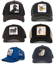 Goorin Bros Animal Farm Summer Trucker Snapback Baseball Hat Cap LONE WOLF