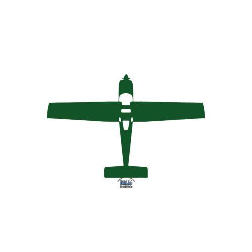 MERLIN 100 Pilot Top View vinyl Sticker Decal Civil Aviation Kit Plane
