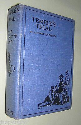 Genossenschaft C1920s Temple's Trial Girls Story. Everett-green Hardback