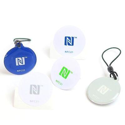 NFC Starterkit Mini | NFC Tags | NFC Anhänger und NFC Sticker