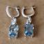 4-20Ct-Emerald-Cut-Aquamarine-Drop-amp-Dangle-Earrings-Solid-14K-White-Gold-Finish thumbnail 7