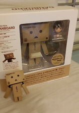 US Seller!! Japanese Danbo Danboard Mini & Big revoltech Kaiyodo Amazon Set!!