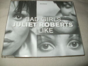 JULIET-ROBERTS-BAD-GIRLS-I-LIKE-DANCE-CD-SINGLE