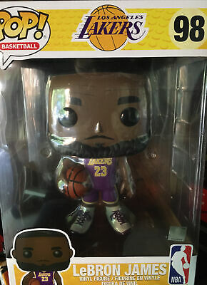 Funko 52359 La Lakers Lebron James Purple Jersey 10 Inch Pop NBA ...