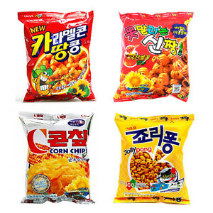 Korean-Mini-Snack-Collection-Crown-Snack-4Pack