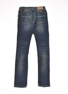 Nudie Jeans Skinny Lin Dark Double Indigo Women Jeans Size 27/30