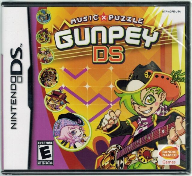 Gunpey DS (Nintendo DS, 2006) Factory Sealed