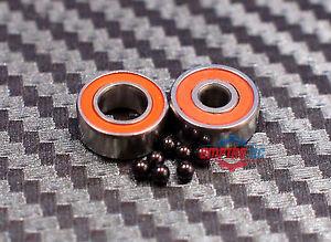 """SR188-2RS ABEC-7 HYBRID CERAMIC Ball Bearings 1//4/"""" x 1//2/"""" x 3//16/"""" QTY 5"""
