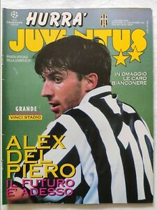 HURRA-039-JUVENTUS-N-12-DICEMBRE-1995-DEL-PIERO-DI-LIVIO-UMBERTO-AGNELLI-CONTE