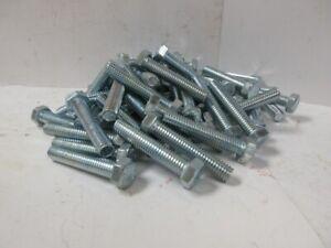 40 Full Thread 3//8-16 x 6 307A Hex Head Tap Bolt Zinc Plated