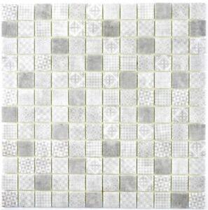Retro-Vintage-Mosaik-Fliese-ECO-Recycling-GLAS-ECO-grau-Dusche-Wand-145-P-80-b