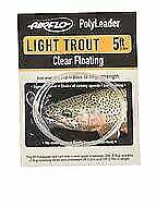 5 FT - Clair Flottant Airflo Polyleader Light Trout environ 1.52 m