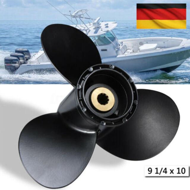 SOLAS Propeller  Edelstahl 3 Blatt 9 1//4 x 12 Zoll für Honda 8-20 PS