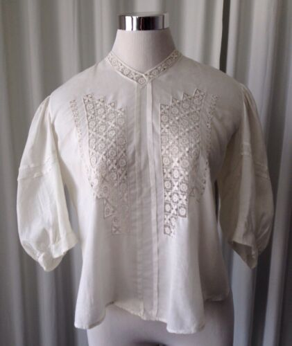 Antique  Victorian Edwardian Women's Blouse Bodice