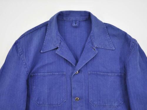 Vintage European HBT Work Chore Jacket, German Wor