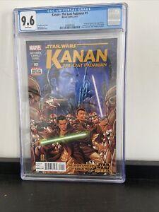 STAR-WARS-KANAN-THE-LAST-PADAWAN-1-CGC-9-6-1st-Cameo-Sabine-Wren-MANY-FIRST-APP
