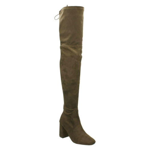 Details about  /DOLCIS ELANA LADIES HIGH HEELED OVER THE KNEE ZIP UP WINTER CASUAL BOOTS OLB838