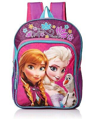 School Backpack Kids Children Kindergarten Girls Cartoon Princess Elsa Bag