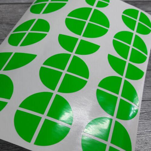 BMW Emblem Logo Aufkleber Ecken 1er 3er 4er M3 X1 X3 X5 neon grün