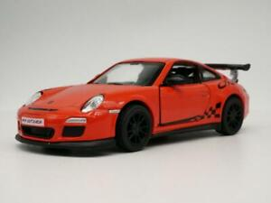 2010 Porsche 911 GT3 RS Racing 1/36 escala Diecast Diorama Coleccionable Coche