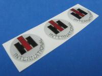 Ihc International Harvester Truck Domed Decal Emblem Sticker Set Of Three 264