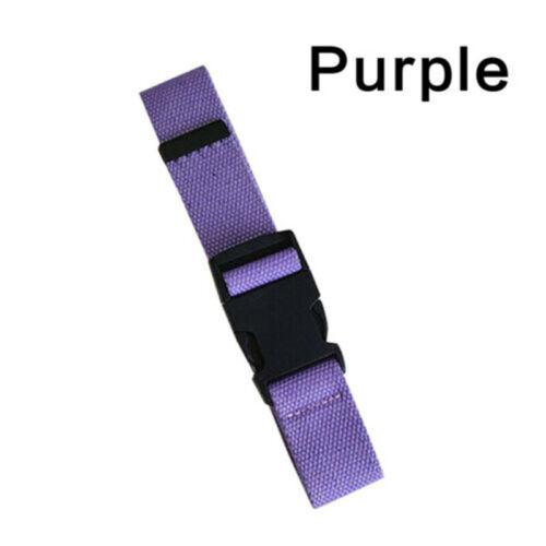 Outdoors Adjustable Buckle Plastic Waist Belt Men Women Canvas Nylon Belt