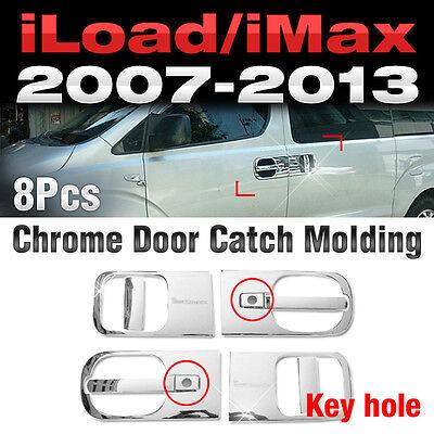 Chrome Door Catch Molding Cover Trim Garnish 6P for HYUNDAI 2005 2006 iMax i800