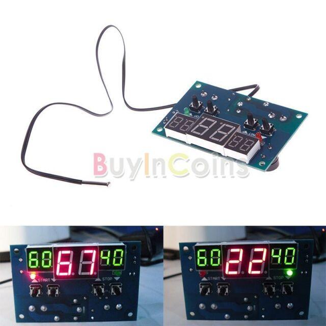12V Intelligent Digital Led Thermostat -9°C - 99°C Temperature Controller Tool