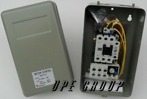 MAGNETIC-MOTOR-STARTER-CONTROL-FOR-ELECTRIC-MOTOR-5-HP-3-PHASE-208-230VAC
