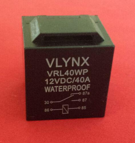 QTY60 RELAY+60 INTERLOCKING 5 PIN SOCKETS 12V DC 30 40A WATERPROOF SPDT
