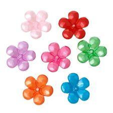 10x Tappi perla terminali filigrana Fiori per 12mm Perline Colori Mix