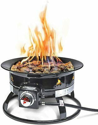Outland Firebowl 893 Deluxe Outdoor Portable Propane Gas ... on Outland Gas Fire Pit id=78720