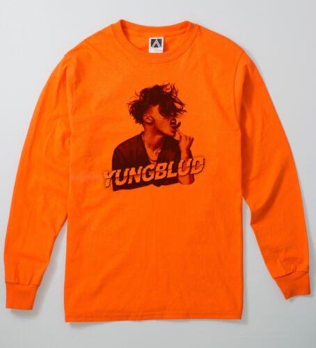Yung scopami Felice Manica Lunga T Shirt BLUD Tour eBoy egirl responsabilità Rave Tee