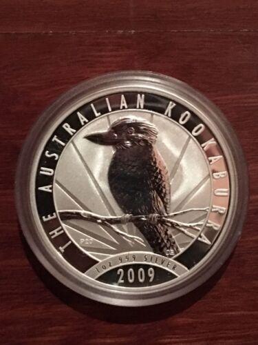 1oz 2009 Silver Kookaburra Perth Mint .999 Purity
