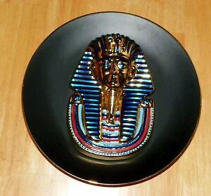 Collector Plate 3D Egypt: Splendours Ancient World Golden Mask of Tutankhamun