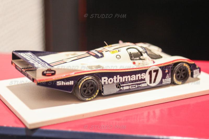 The Porsche 962c Winner 24h mans 87 1 43 Kit Starter ROBUSTELLI no spark