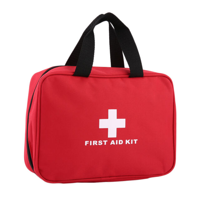 Portable Sports Camping Home Medical Emergency Survival First Aid Kit Bag FT