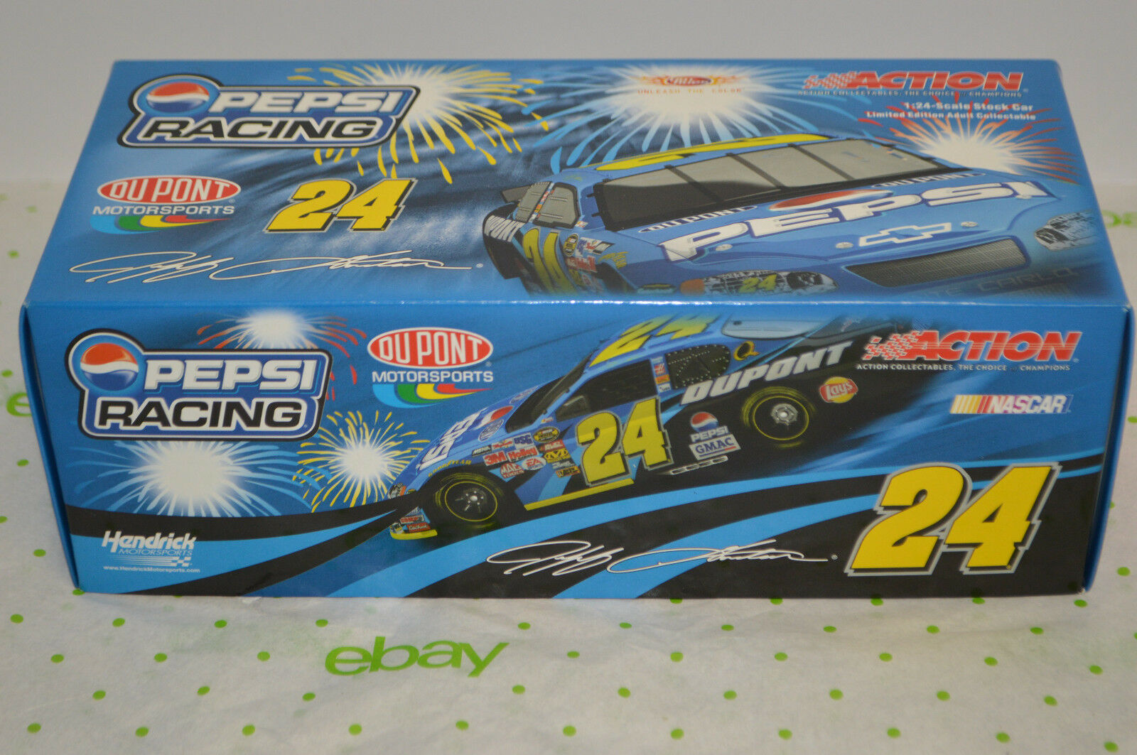 MINT NIB 2005 Jeff Gordon 1 24 Dupont Pepsi Monte Carlo Diecast 1 of 720 Ltd Ed.